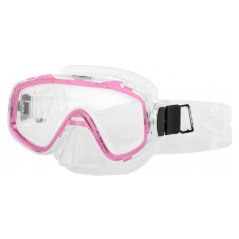Miton NEPTUNE JR pink - Children's diving mask