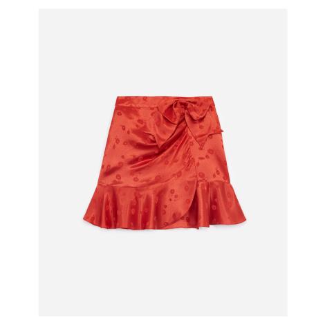 The Kooples - Jacquard short skirt with frills - WOMEN