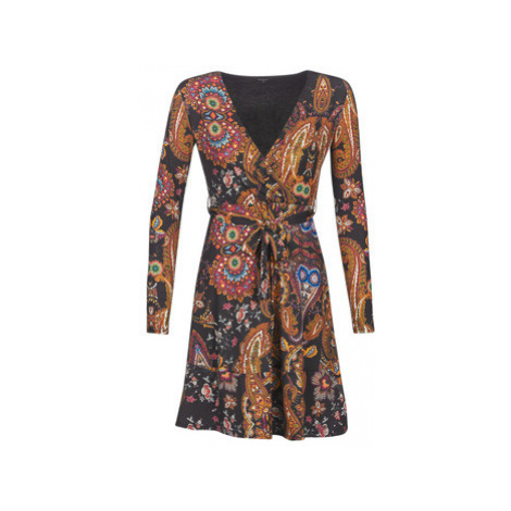 Desigual CIRA women's Dress in Multicolour