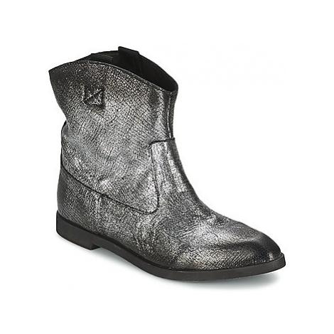 Diesel LIZA women's Mid Boots in Silver