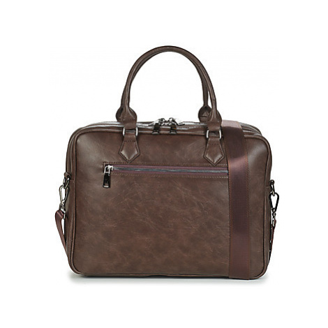 Casual Attitude LINE men's Briefcase in Brown