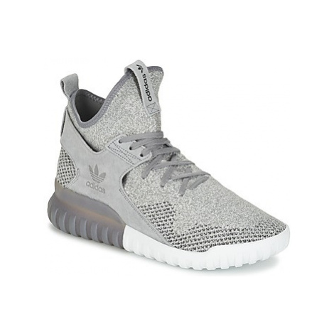 Adidas TUBULAR X PK men's Shoes (High-top Trainers) in Grey