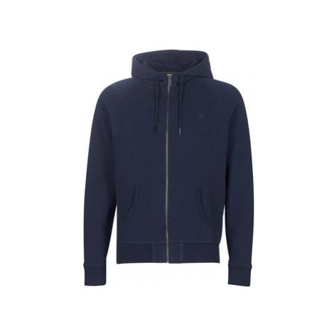 Timberland ER basic zip thru hood MARINE men's Sweatshirt in Blue