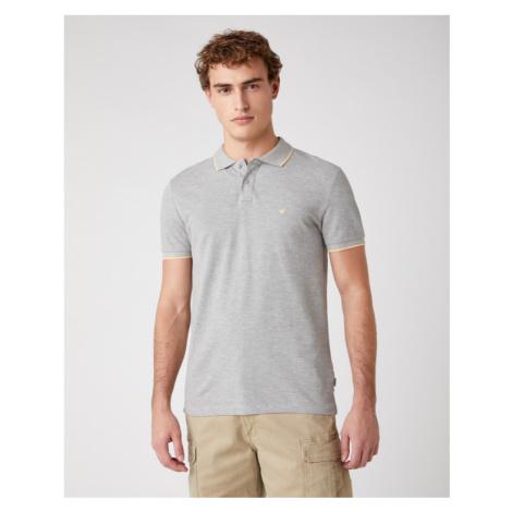 Wrangler Polo Shirt Grey