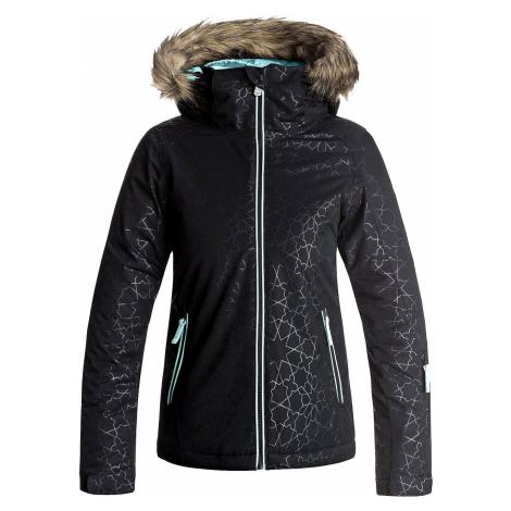 jacket Roxy Jet Ski Solid - KVJ1/True Black/Gana Emboss