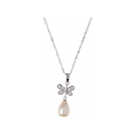 Blue Pearls BPS 0135 Y women's Pendant in White