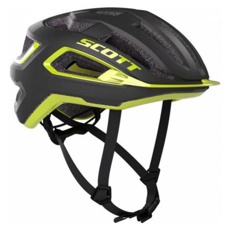 Scott ARX PLUS yellow - Cycling helmet
