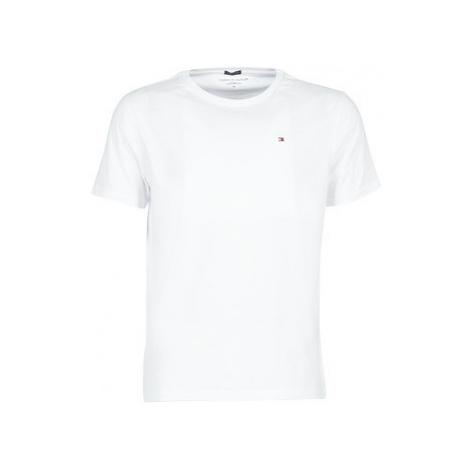 Tommy Hilfiger COTTON ICON SLEEPWEAR-2S87904671 men's T shirt in White