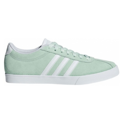 adidas COURTSET light green - Women's leisure shoes