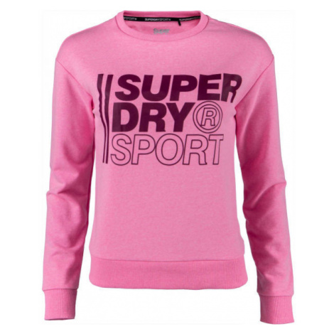 Superdry CORE SPORT CREW pink - Women's sweatshirt