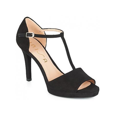Unisa TEDIO women's Sandals in Black