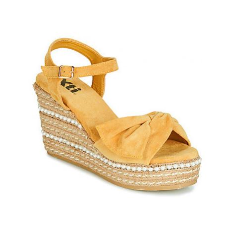 Xti 49073 women's Sandals in Yellow