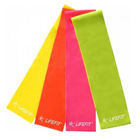 Lifefit Ribbon 0.45 mm yellow - Gymnastic ribbon