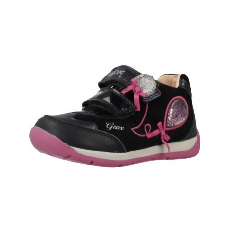Geox B EACH girls's Children's Shoes (Trainers) in Blue
