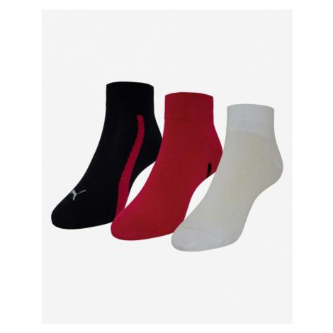 Puma Set of 3 pairs of socks Black Red White