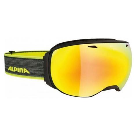 Alpina Sports BIG HORN MM black - Unisex downhill ski goggles