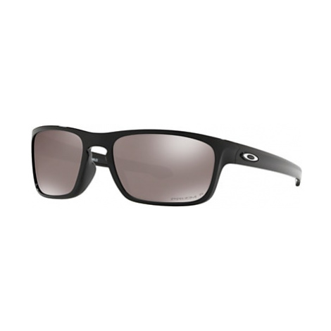 Oakley OO9408 Sliver Stealth Men's Polarised Sunglasses, Prizm Black
