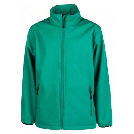 Kensis RORI JR green - Boys' softshell jacket