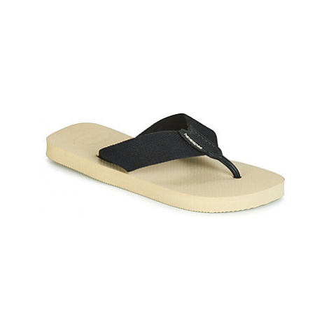 Havaianas URBAN BASIC men's Flip flops / Sandals (Shoes) in Beige