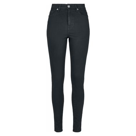 Urban Classics - Ladies High Waist Skinny Jeans - Girls jeans - black