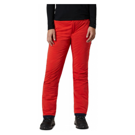 Columbia BACKSLOPE INSULATED PANT orange - Women's insulated ski trousers