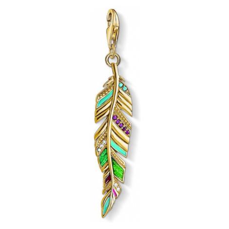 Thomas Sabo Ethnic Feather Charm