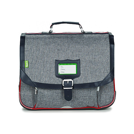 Tann's LIGHT CARTABLE 38 CM boys's Briefcase in Grey