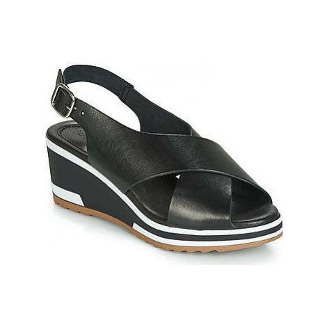Kickers WING women's Sandals in Black