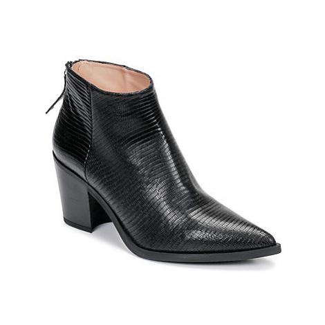 Unisa MIRTE women's Low Ankle Boots in Black