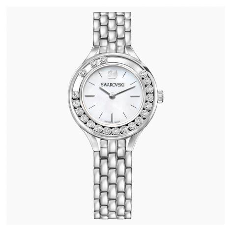 Lovely Crystals Watch, Metal bracelet, Stainless steel Swarovski
