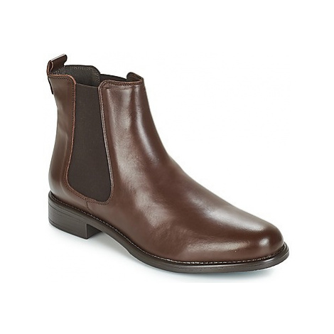 Betty London NORMANDIA women's Mid Boots in Brown
