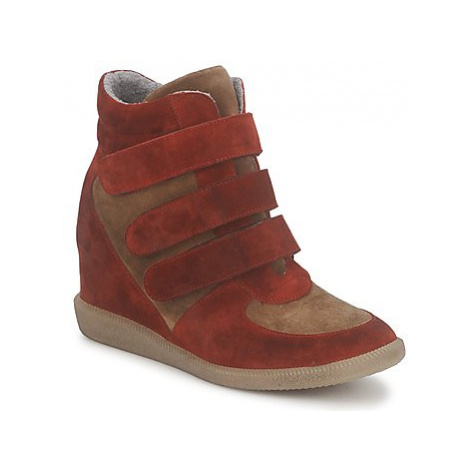 Meline IMTEK BIS women's Shoes (High-top Trainers) in Brown