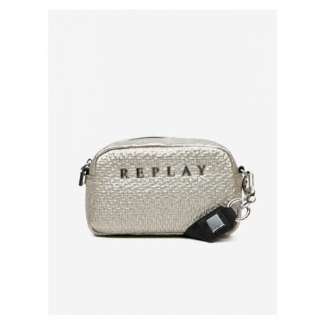 Replay Handbag Silver