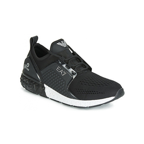 Emporio Armani EA7 SPIRIT C2 PREMIUM U men's Shoes (Trainers) in Black