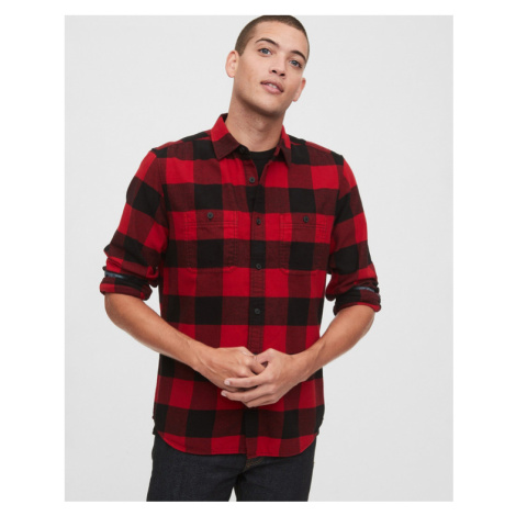 GAP Shirt Black Red