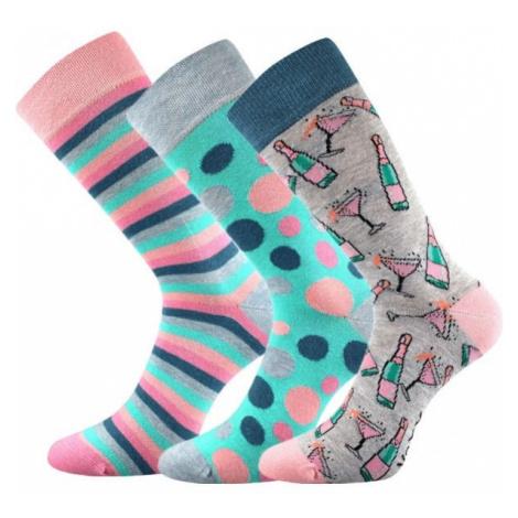 Voxx S-BOX WOMEN'S 3-PACK grey - Women's socks