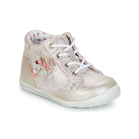 Catimini SOLDANELLE girls's Children's Shoes (High-top Trainers) in Pink