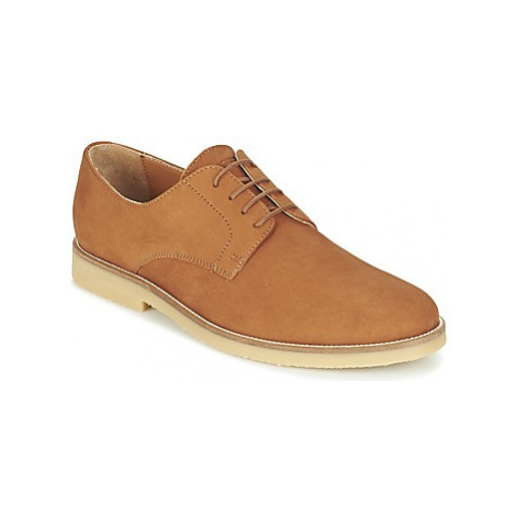 Hackett BLUCHER NUBBUCK men's Casual Shoes in Brown