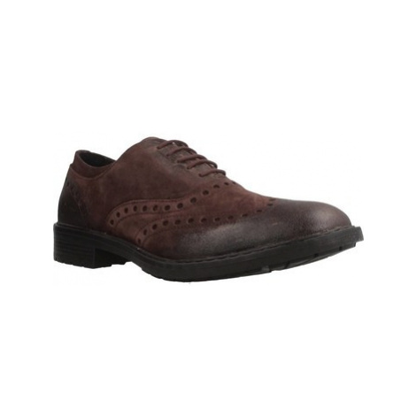 Geox U KAPSIAN men's Smart / Formal Shoes in Brown