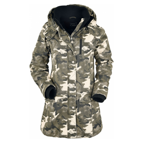 RED by EMP - Ladies Parka - Girls coat - sand camo