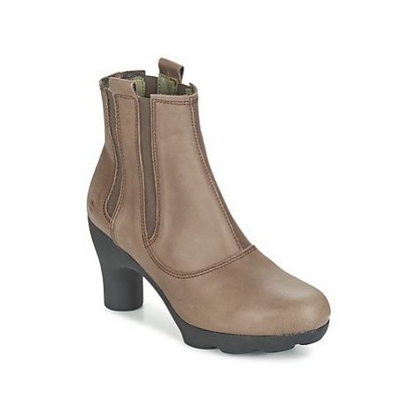 El Naturalista OCTOUPUS women's Low Ankle Boots in Brown