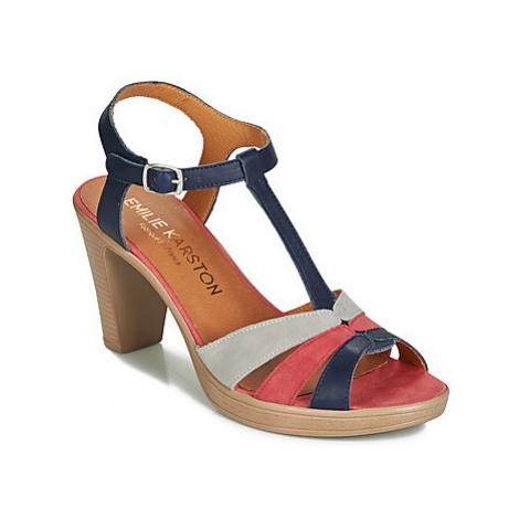 Karston RUIDGI women's Sandals in Blue