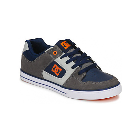 DC Shoes PURE girls's Children's Skate Shoes in Grey
