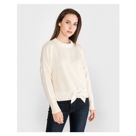 Scotch & Soda Sweater Yellow White