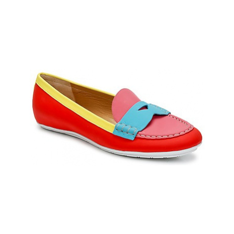 Marc Jacobs SAHARA SOFT CALF women's Loafers / Casual Shoes in Multicolour