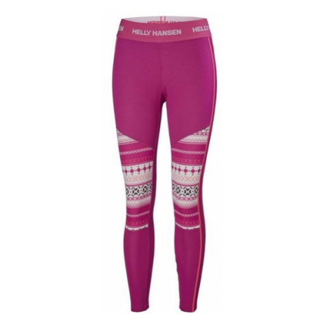 Helly Hansen LIFA ACTIVE GRAPHIC PANT W pink - Women's tights