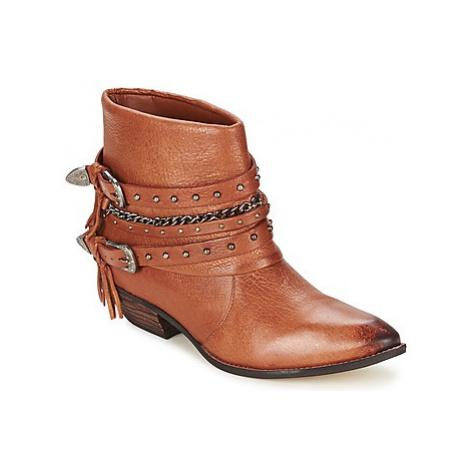 Dumond ZIELLE women's Mid Boots in Brown
