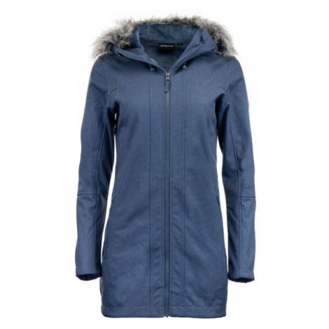 ALPINE PRO DUMUZA blue - Women's softshell coat
