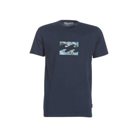 Billabong TEAM WAVE TEAM TEE S men's T shirt in Blue