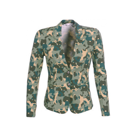 Les Petites Bombes AZITAZ women's Jacket in Multicolour